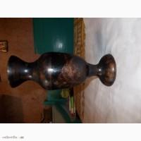 Индийская металлическая ваза