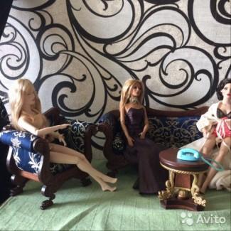 Коллекционня кукольная мебель ручной работы