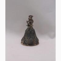 Продается Серебряный колокольчик Зайка