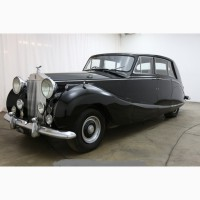 1954 Rolls- Royce Silver Wraith Limousine Houper