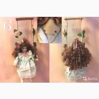 Продам куклу Милена на качелях, высота сидя 20см, выпущена китайской фирмы Remeko