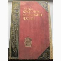 Большой юбилейный географический атлас, издательство Штилера, 1909 год