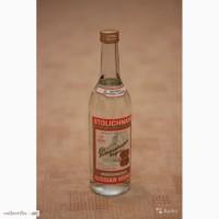 Бутылка Stolichnaya 1992 года