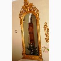 Зеркало напольное старинное