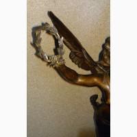 Продам Бронзовую скульптуру Богиня Виктория. Rousseau. 1890 года