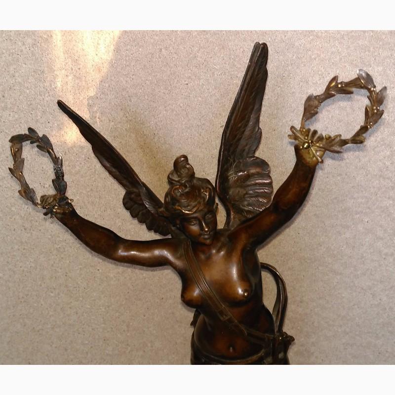 Фото 4. Продам Бронзовую скульптуру Богиня Виктория. Rousseau. 1890 года