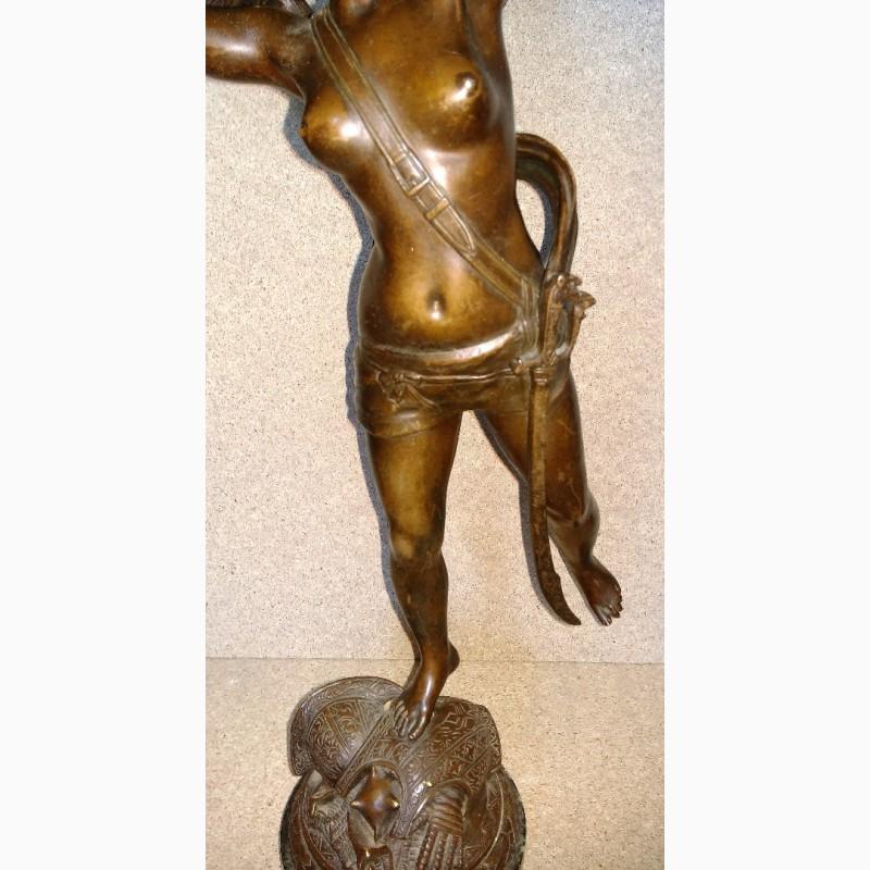 Фото 5. Продам Бронзовую скульптуру Богиня Виктория. Rousseau. 1890 года