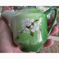 Фарфоровый заварной чайничек, фарфор Кузнецова