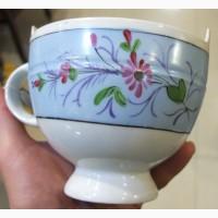 Фарфоровая чаша для икры, фарфор Кузнецова в Дулево, царская Россия