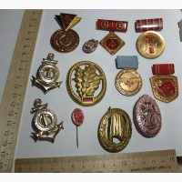 Медали и знаки ГДР, подборка
