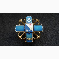 Знак Колледж Сержантов ВМС Украина. Севастополь 2009 Г