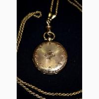 Золотые часы Cylindre 8 pierres - антиквариат