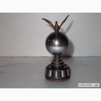 Сувенир-статуэтка голубь мира СССР 1957 год оригинал, металл (сталь-бронза)