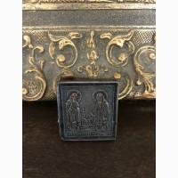 Икона Святые преподобные Сергий и Герман Валаамские чудотворцы