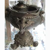 Керосиновая лампа настольная, царская Россия, 19 век