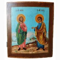 Продается Икона Св. мч. Флор и Лавр конец XIX века