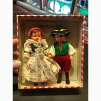 Куклы в чешских костюмах (2 шт) 1966 год