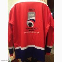 Хоккейная сетка с ЧМ-2007