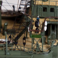Продам модели крейсера Варяг в масштабе 1/350