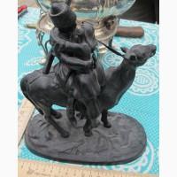 Чугунная статуэтка Прощание казака с казачкой, Касли, 1958 год