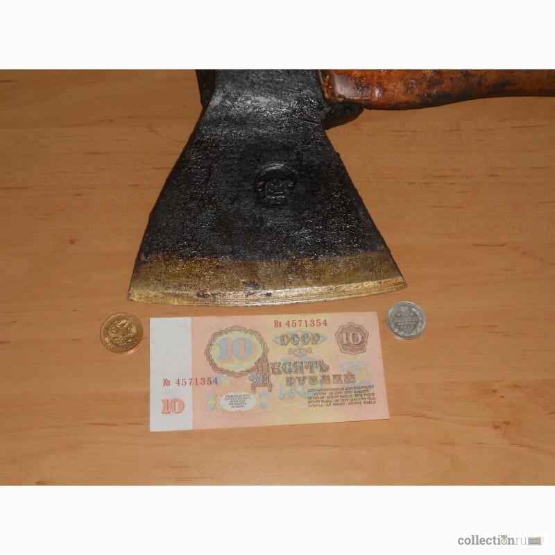 Фото 5. Топор плотничный кованый 195 года СССР