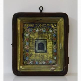 Продается Икона в киоте Нерукотворный Образ Иисуса Христа. Конец XIX века