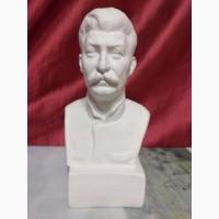 Продаю бюст Сталина, гипс, 24 см
