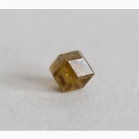 Топазолит, превосходно сформированный кристалл