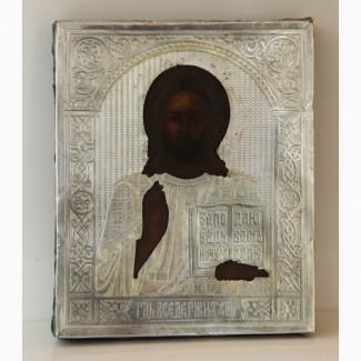 Продается Икона Господь Вседержитель.Москва 1886 год