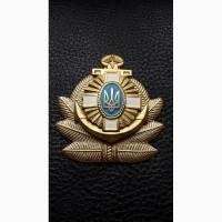 Кокарда ВМС. Украина. Латунная. Начало 90-Х