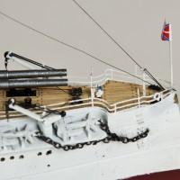 Продам модель броненосца Цесаревич в масштабе 1/350