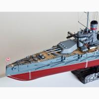 Продам модель линкора Севастополь в масштабе 1/350