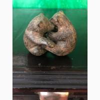 Скульптура Медвежата Венская бронза