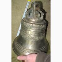 Колокол церковный, медь, все родное, 19 век