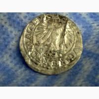 Монета 1547 года, полугрош, Великое Княж Литовское Вильно. Времена крестоносцев