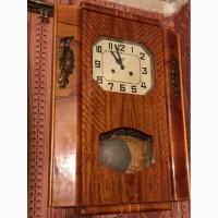 Часы настенные с боем Янтарь 1960г