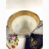 Чайная пара Сервский букет Франция 1847-1850 г