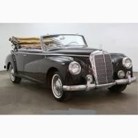 1953 Mercedes-Benz 300B Adenauer Cabriolet
