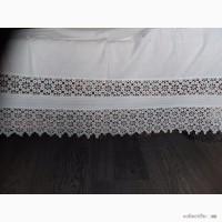 Подзор для кровати. Воротничок кружевной