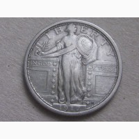 Продам Liberty Quarter dollar 1917г