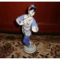 Статуэтка советский фарфор танцующяя китаянка вербилки 1961 год