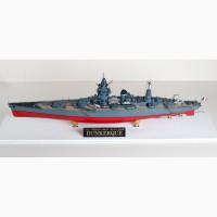 Продам модель французского линкора Дюнкерк в масштабе 1/350