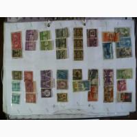 Винтажные марки США (1200 шт) и Канады (500 шт)
