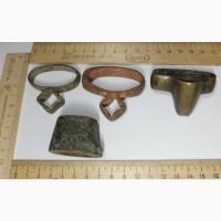 Приборы на сабли, устье и обоймицы, старинные, коллекция