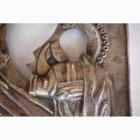 Продается Кованный серебряный оклад Казанской иконы Божьей Матери