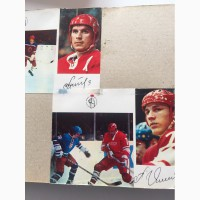 Автографы Олимпийских чемпионов СССР