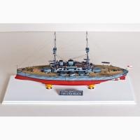 Продам модель английского броненосца Нельсон в масштабе 1/350