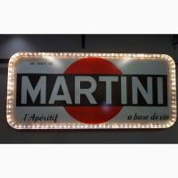 Винтажная вывеска Martini 1957г
