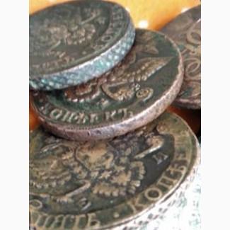 Продам монеты в 5 коп 1795 года
