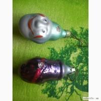 Продам Советские ёлочные игрушки. 1000 руб. за 2 шт. 89612393093